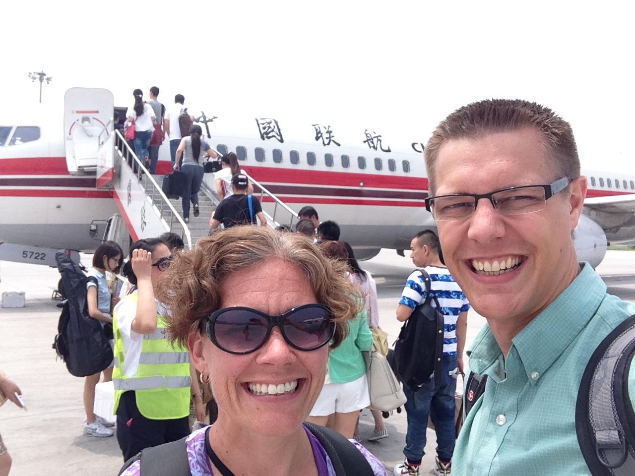 headed to Changsha to meet Tobiah!