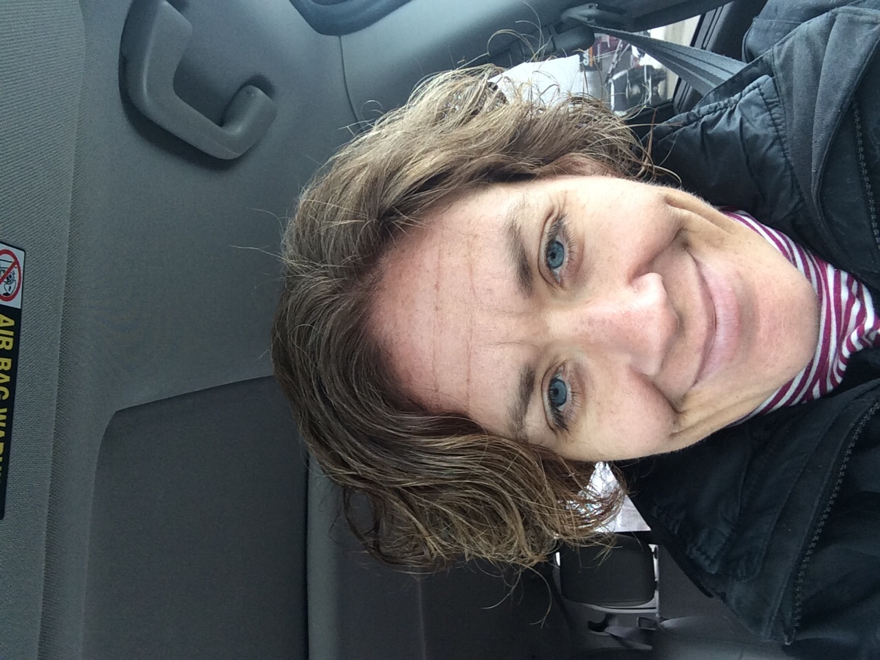 How many selfies do moms take in the car after a visit to the salon?  Social media is filled...