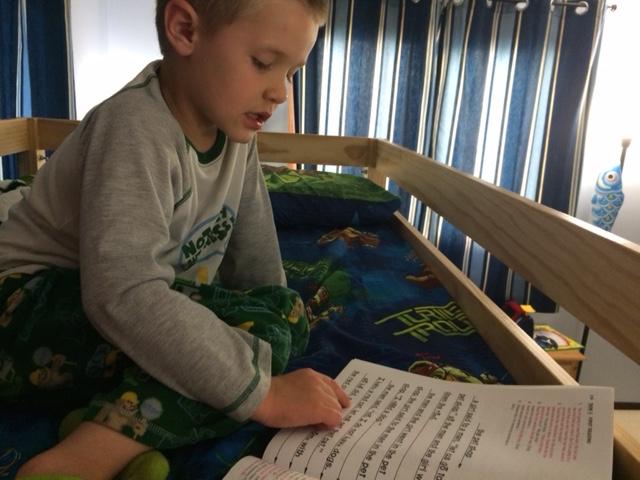 Elam reads