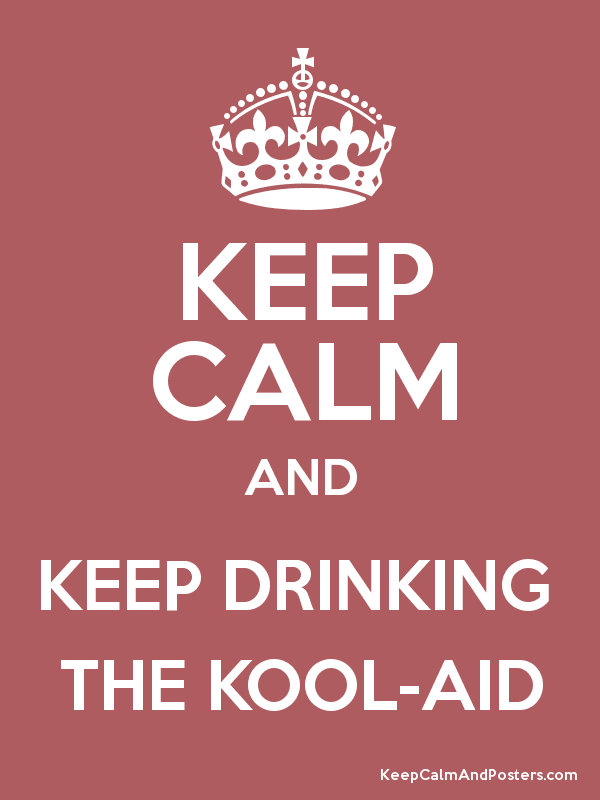 "They even have a ""keep calm"" meme.  I felt doomed... ha."